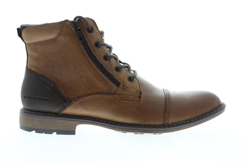 Mark Nason Ottomatic Sazerac 68320 Mens Brown Leather Casual Dress Boots Shoes