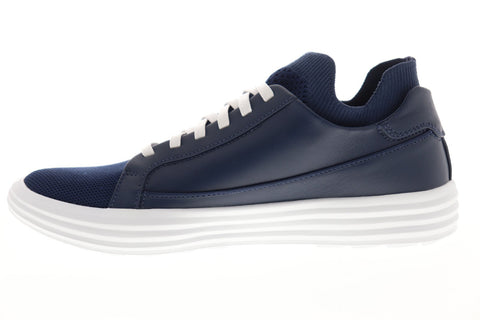 Mark Nason Shogun Down Time 68671 Mens Blue Leather Low Top Sneakers Shoes