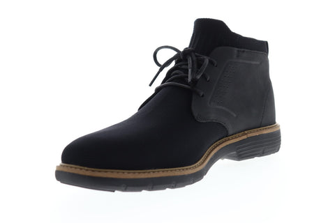 Mark Nason Lite Lugg Webster 68979 Mens Black Canvas Chukkas Boots Shoes