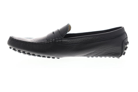 Lacoste Concours 118 1 P CAM Mens Black Leather Casual Loafers Shoes
