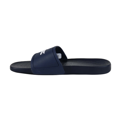 Lacoste Fraisier 318 1 Mens Blue Synthetic Slides Slip On Sandals Shoes