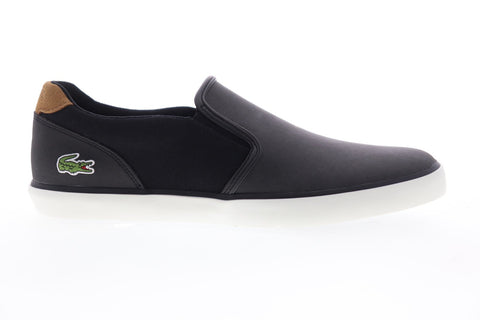 Lacoste Jouer Slip 119 2 CMA 7-37CMA0036CA1 Mens Black Slip On Sneakers Shoes