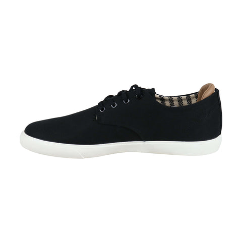 Lacoste Esparre 219 1 Cma Mens Black Canvas Low Top Lace Up Sneakers Shoes