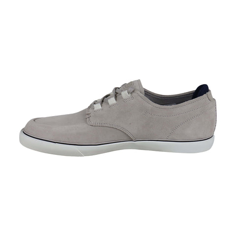 Lacoste Esparre Deck 219 1 Cma Mens Gray Suede Low Top Sneakers Shoes