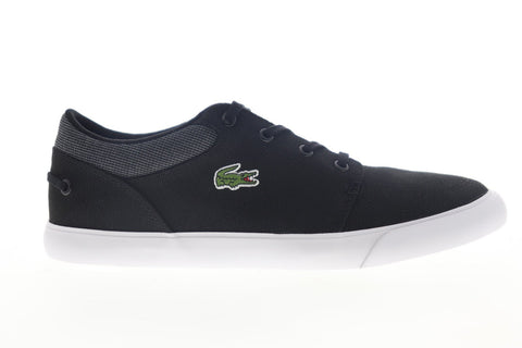 Lacoste Bayliss 319 1 CMA 7-38CMA004102H Mens Black Canvas Low Top Sneakers Shoes
