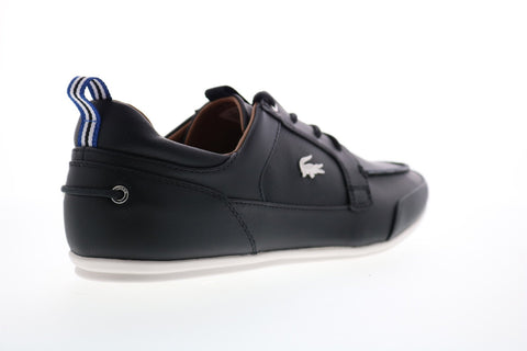 Lacoste Marina 120 1 Us 7-39CMA0046454 Mens Black Leather Low Top Sneakers Shoes