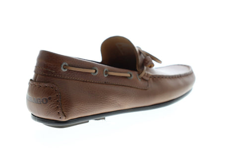 Sebago Tirso Tie FGL 7000710 Mens Brown Leather Casual Lace Up Boat Shoes