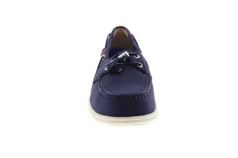 Sebago Litesides Ariapren 7000GH0 Mens Blue Deck Lace Up Boat Shoes Loafers