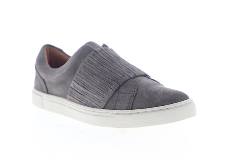 Frye Ivy Gore Slip On 70374 Womens Gray Suede Low Top Lifestyle Sneakers Shoes