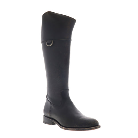 Frye Jayden D Ring 70490 Womens Black Leather Zipper Casual Dress Boots