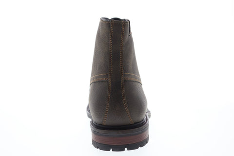 G.H. Bass Anchor Tumbled 713225-01B Mens Brown Leather Casual Dress Boots Shoes