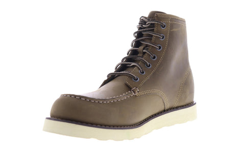 Eastland Lumber Up Mens Brown Nubuck Work Lace Up Boots Shoes