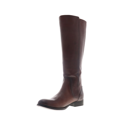 Frye Melissa Stud Back Zip 75436 Womens Brown Leather Zipper Casual Dress Boots