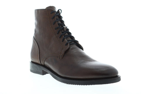 Frye Corey Lace Up 80207 Mens Brown Leather Casual Dress Boots Shoes