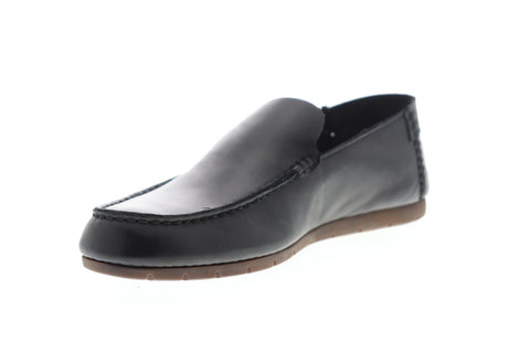 Frye Mesa Venetian 80248 Mens Black Leather Casual Slip On Loafers Shoes 13