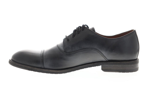 Frye Sam Oxford 80299 Mens Black Leather Casual Lace Up Oxfords Shoes