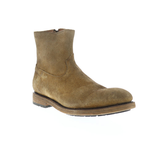 Frye Bowery Inside Zip 80337 Mens Brown Leather High Top Casual Dress Boots