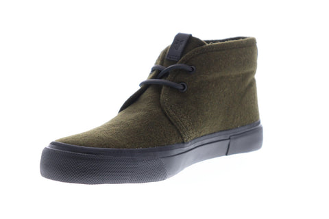 Frye Ludlow Chukka Mens Green Suede Casual Dress Lace Up Chukkas Shoes
