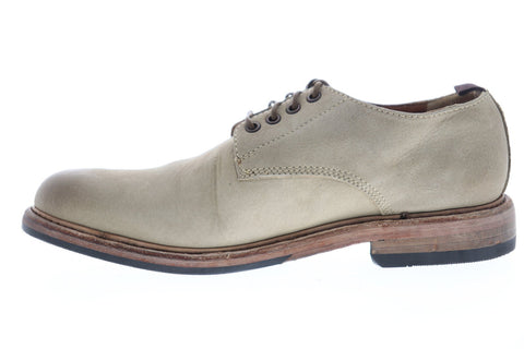 Frye Murray Oxford 80431 Mens Beige Nubuck Casual Lace Up Oxfords Shoes