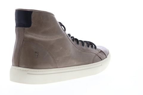 Frye Walker Midlace 80442 Mens Brown Leather Lace Up High Top Sneakers Shoes