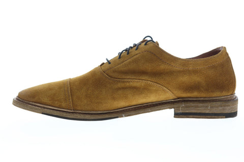 Frye Paul Bal Oxford 80523 Mens Brown Suede Casual Lace Up Oxfords Shoes