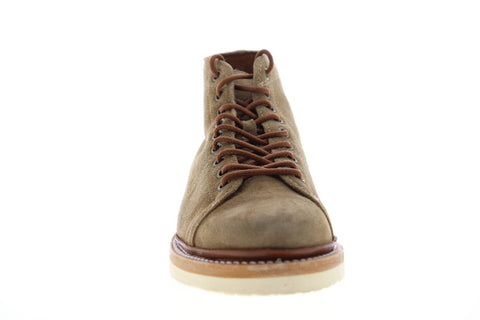 Frye Bryant Lace Up 80556 Mens Brown Suede Lace Up Casual Dress Boots Shoes