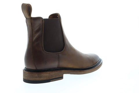 Frye James Chelsea 80687 Mens Brown Leather Slip On Boots