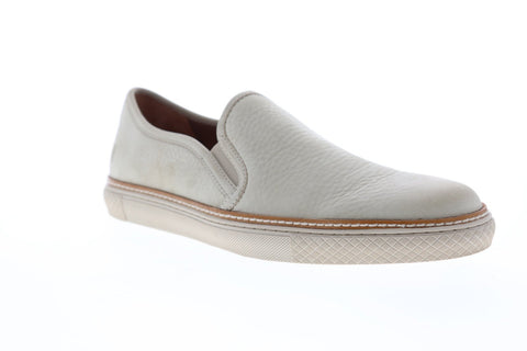 Frye Gates Slip On Mens Gray Leather Slip On Sneakers Shoes
