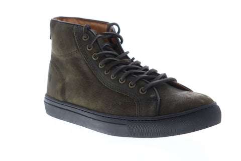 Frye Walker Midlace 81217 Mens Fatique suede Lace Up Low Top Sneakers Shoes