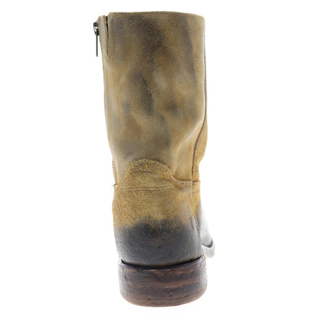 Frye Campus Inside Zip 81303 Mens Brown Suede Zipper Casual Dress Boots Shoes