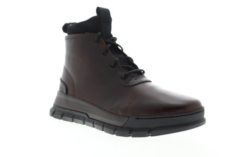 Frye Explorer Chukka 81307 Mens Brown Leather Casual Dress Boots Shoes