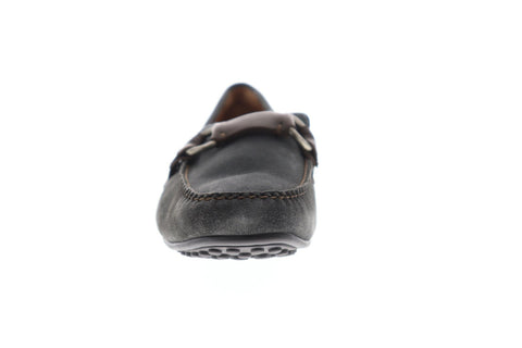 Frye Allen Ring Keeper Mens Gray Suede Casual Dress Slip On Loafers Shoes
