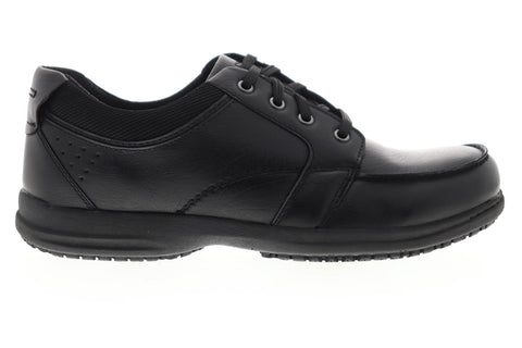 Nunn Bush Stefan 84790-001 Mens Black Synthetic Lace Up Casual Oxfords Shoes