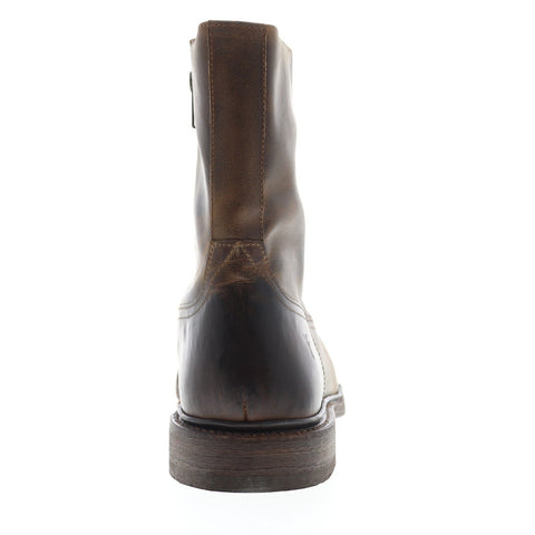 Frye James Inside Zip 87105 Mens Brown Leather Casual Dress Boots Shoes