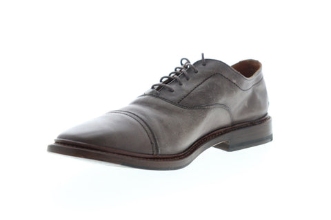 Frye Paul Bal Oxford 87626 Mens Gray Leather Dress Lace Up Oxfords Shoes