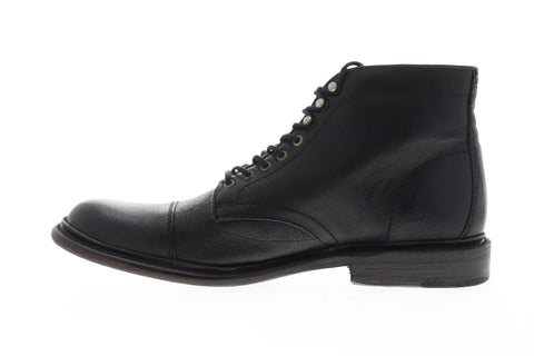 Frye Jack Lace Up 87893 Mens Black Leather Casual Dress Boots Shoes