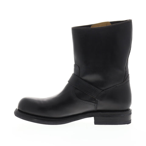 Frye Sutton Engineer 88000 Mens Black Leather Casual Dress Boots Shoes