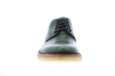 Frye Luke Oxford 88060 Mens Green Leather Casual Lace Up Oxfords Shoes