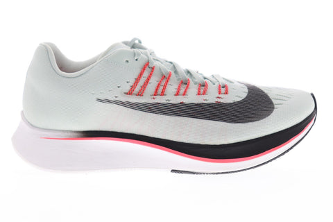 Nike Zoom Fly 897821-009 Womens Gray Canvas Lace Up Athletic Gym Running Shoes