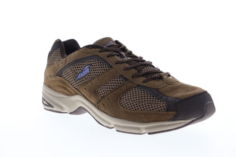 Avia Avi Volante Country A6172WJEU Womens Brown Wide 2E Walking Athletic Shoes