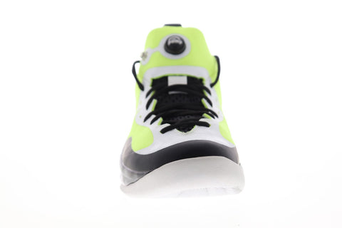 Reebok Zpump Rise The Pump AQ9498 Mens Green Mesh Athletic Basketball Shoes