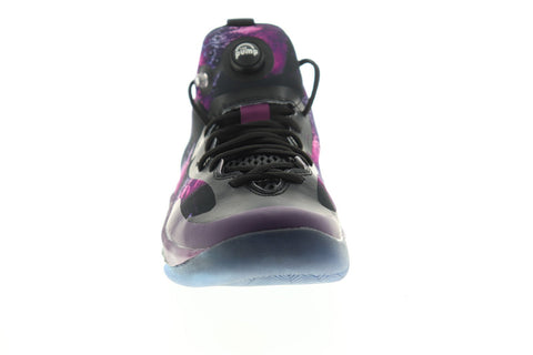 Reebok Zpump Rise The Pump Mens Black Synthetic Athletic Basketball Shoes