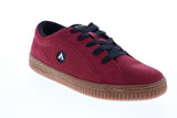Airwalk The One Gum AW00206-600 Mens Red Skate Inspired Sneakers Shoes