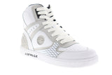 Airwalk Prototype 600 AW00226-100 Mens White Leather Lace Up Athletic Skate Shoes