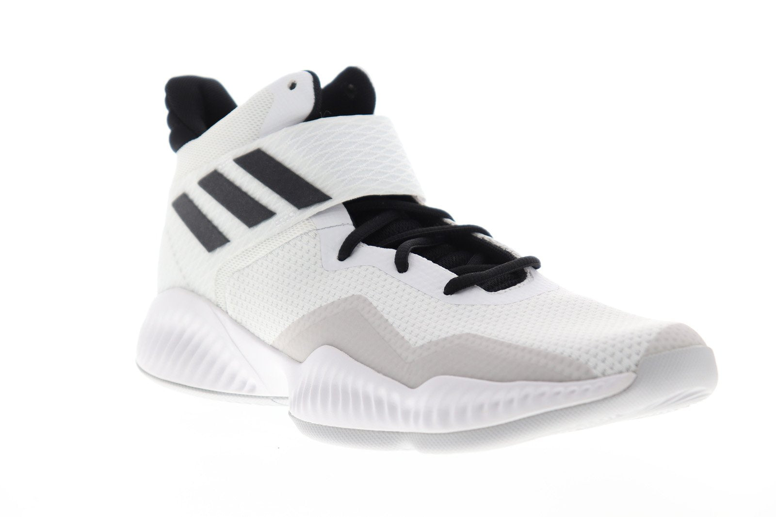 Ruze Shoes: Adidas Marquee Boost Low Mens White Textile Athletic Basketball Shoes 10.5 |