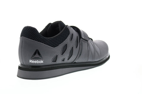 Reebok Lifter Pr BD2631 Mens Gray Synthetic Athletic Weightlifting Shoes