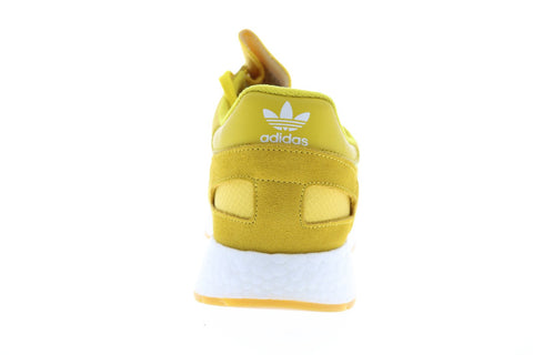 Adidas I-5923 BD7612 Mens Yellow Nylon Lace Up Lifestyle Sneakers Shoes
