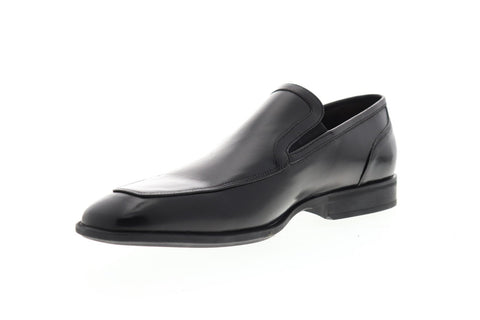 Bruno Magli Firenze BM600319 Mens Black Leather Dress Slip On Loafers