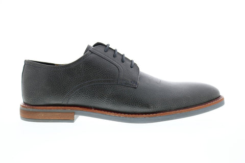 Ben Sherman Brent Plain Toe Mens Gray Plain Toe Oxfords & Lace Ups Shoes