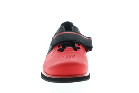 Reebok Lifter PR CN4510 Mens Red Synthetic Lace Up Athletic Weightlifting Shoes